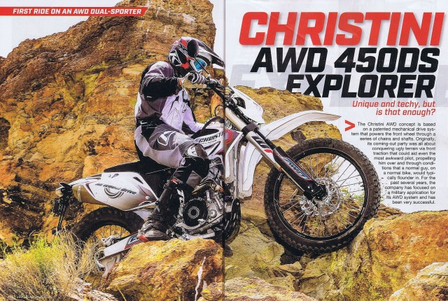 Christini AWD 450DS Motorcycle Review – Dirt Bike Magazine