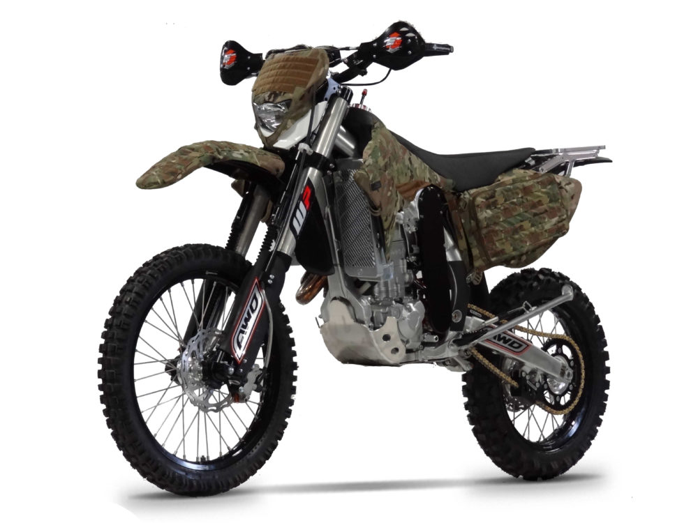 CHRISTINI All Wheel Drive Motorcycles awarded contract to supply US Air Force with AWD 450E Military edition motorcycles