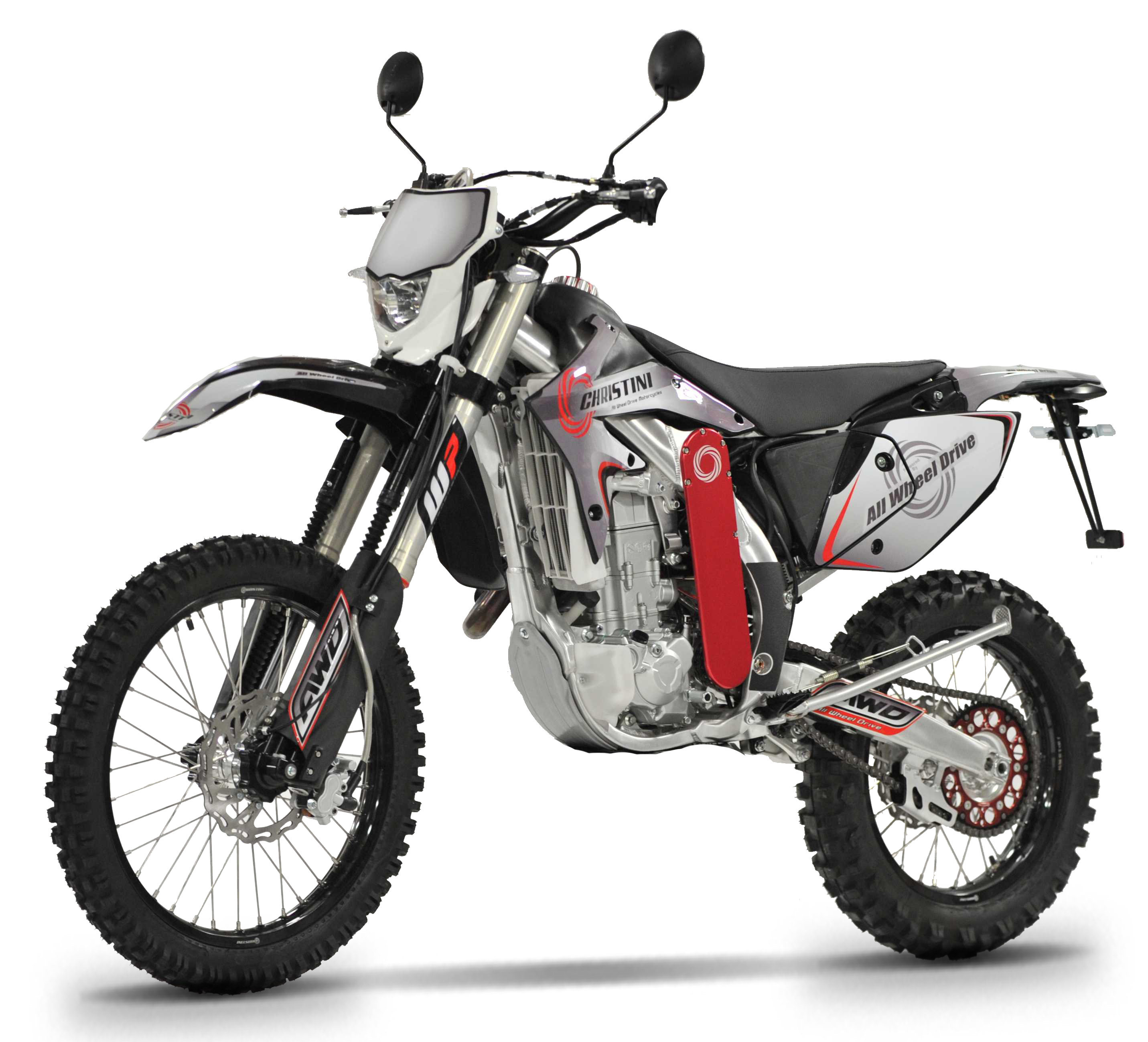 CHRISTINI All Wheel Drive Motorcycles receive CARB approval for their All Wheel Drive 450 Dual Sport & launch consumer financing program
