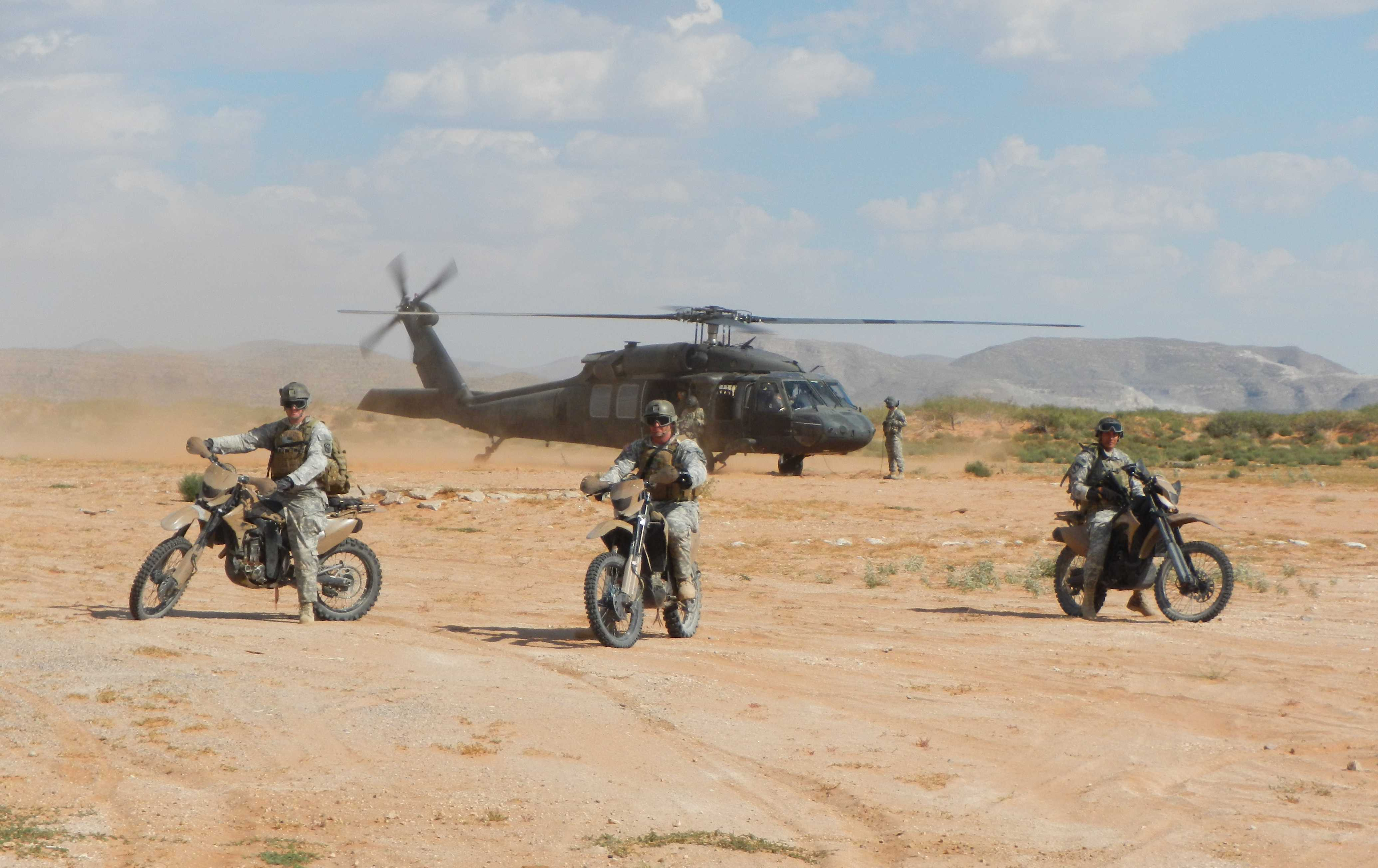 Special Forces – Motorcycle of Choice